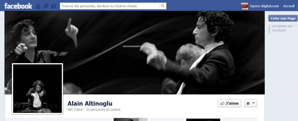 Facebook : Alain Altinoglu