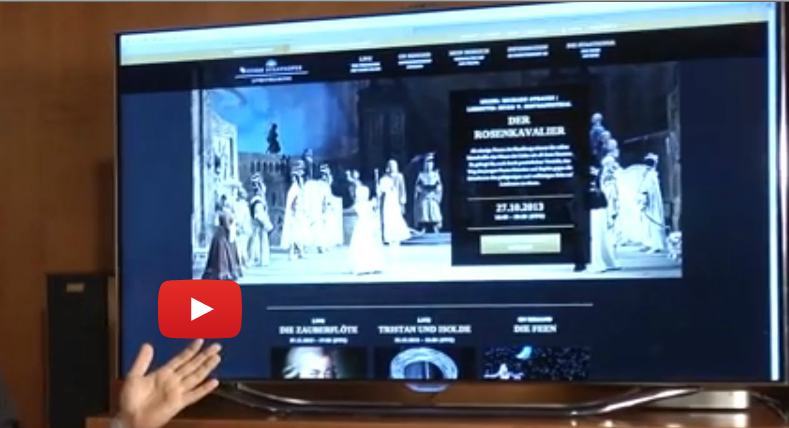 Wiener Staatsoper live stream is the new live and VOD streaming offer of the Vienna State Opera