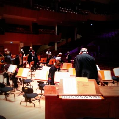 Les chaises parrainees de l'Auditorium de Bordeaux