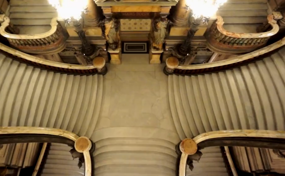 Drones used in the Opera Garnier