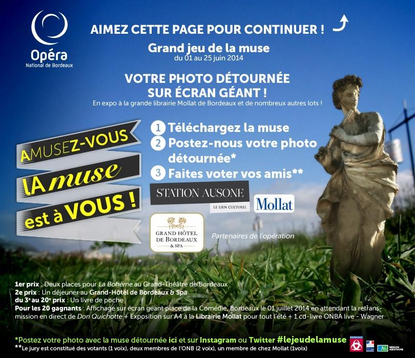 Jeu concours de l'Opera de Bordeaux