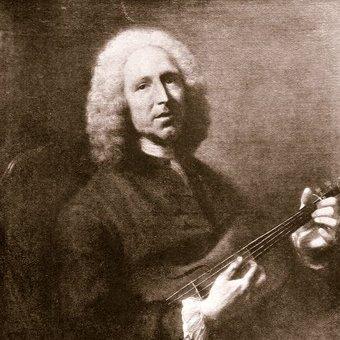 Le compositeur de musique baroque Rameau
