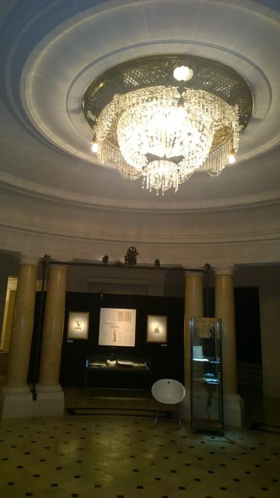 la Rotonde, salle de l'Opera de Lille accueillant souvent les expositions