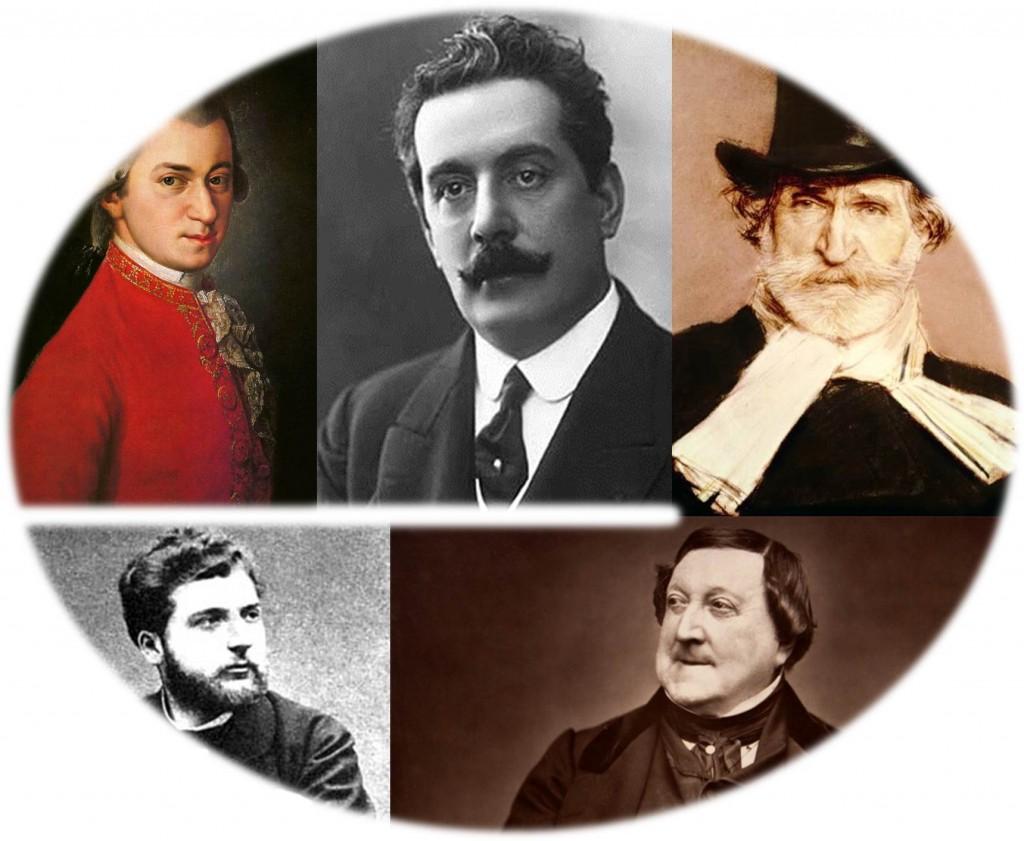 Les compositeurs d'opéra les plus joués