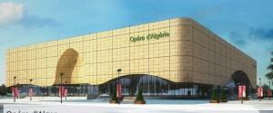 La façade du tout nouvel opera d'Alger