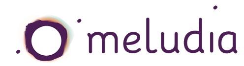 Logo de la start-up Meludia