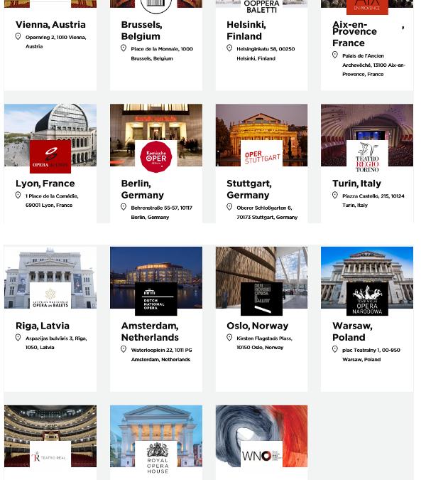 Les 15 membres de The-Opera Platform