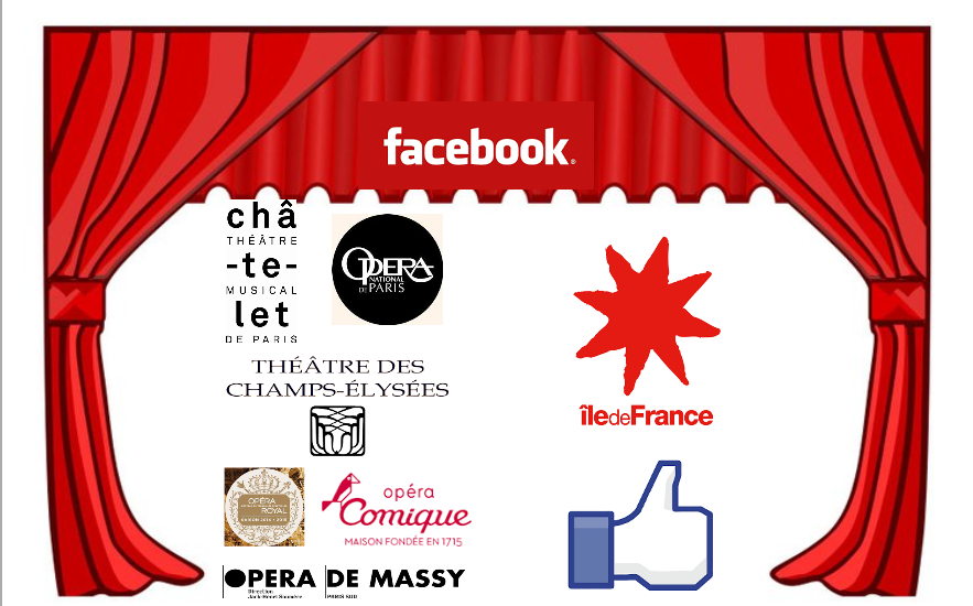 Communauté Facebook d'opera en ile-de-France