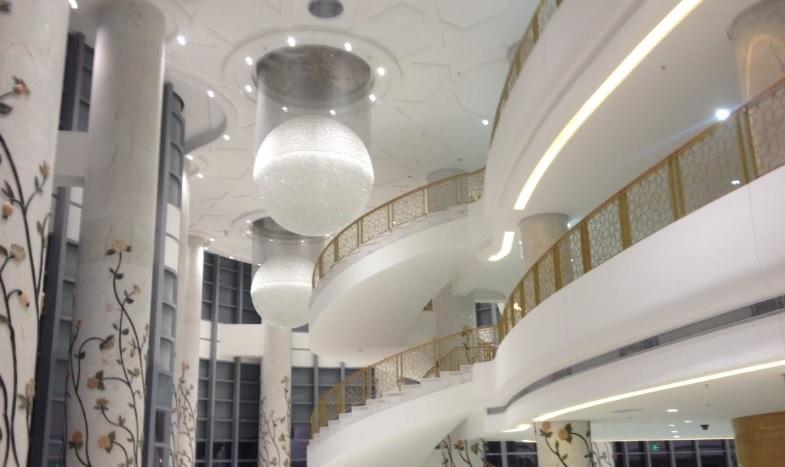 grand escalier de l'opera d'Alger