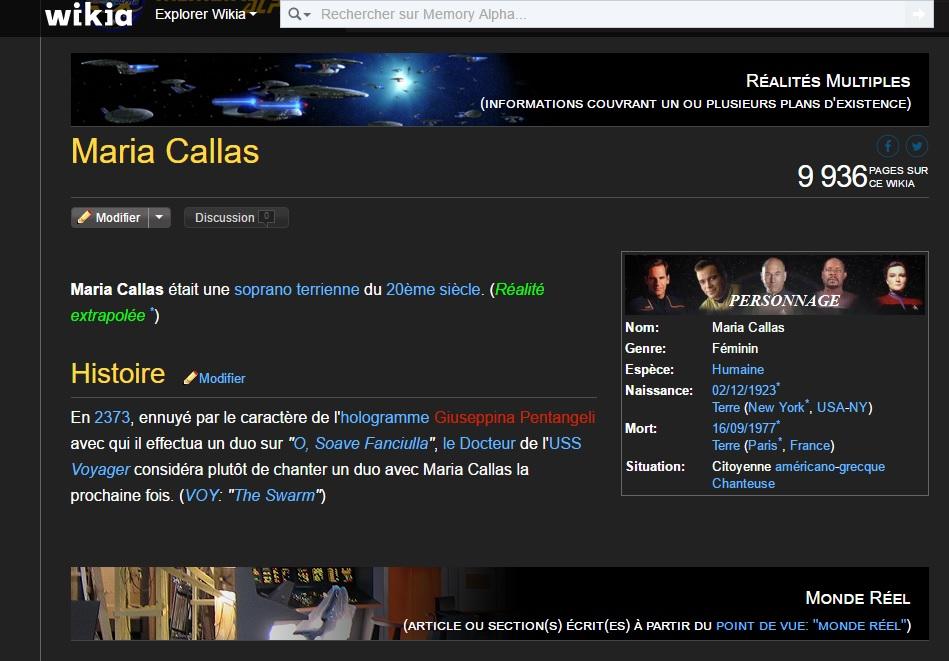 Hollogramme Callas en 2373