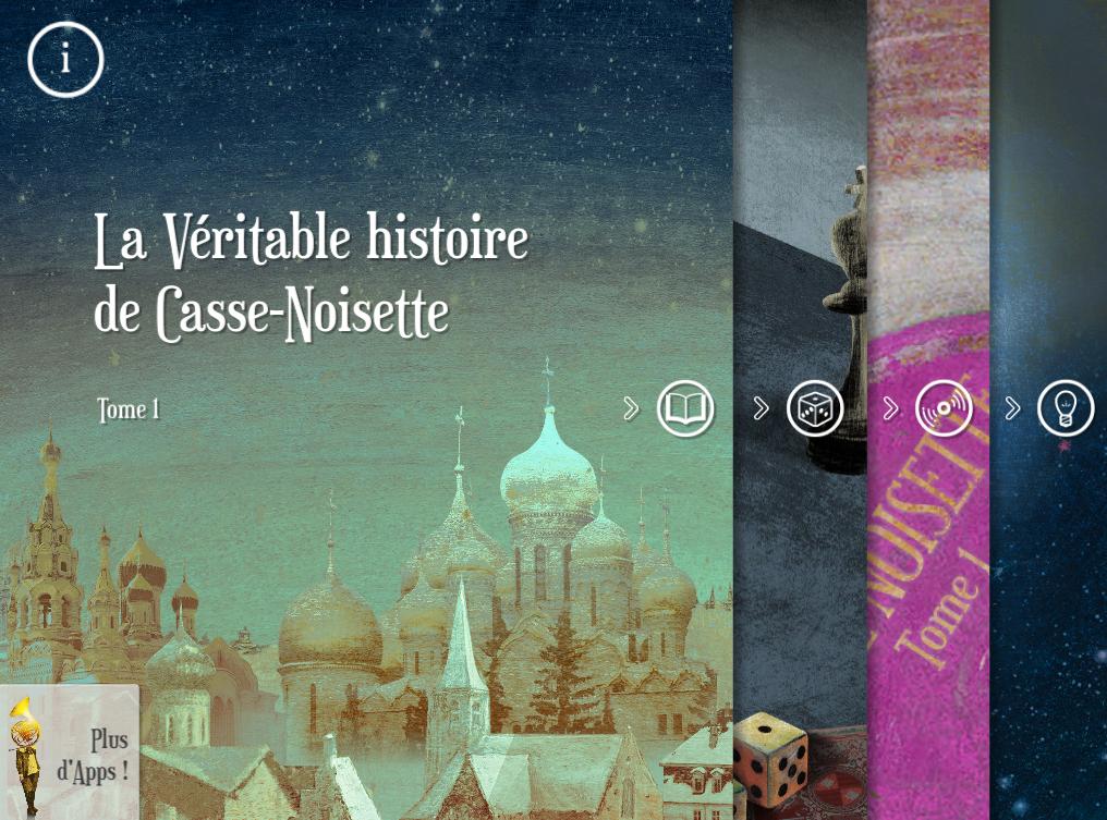 4 expériences offertes dans La Véritable histoire de Casse-Noisette