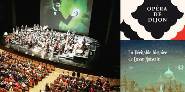 spectacle Transmedia à l'opéra de dijon : découvre Casse-Noisette