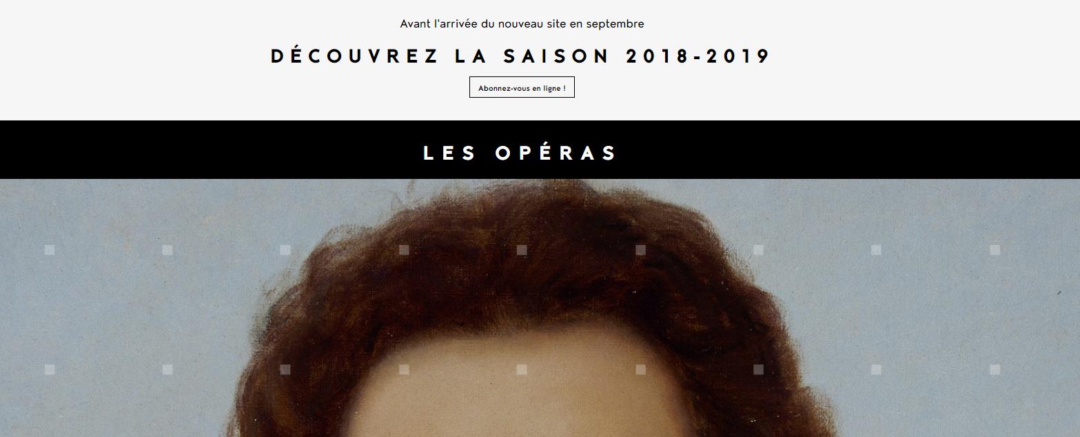 le site web d'Angers Nantes-Opera va être refondu en septembre 2018