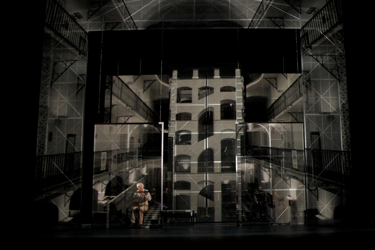 Austerlitz d'après l'oeuvre de Sebald de Jérôme Combier à l'Opera de Lille