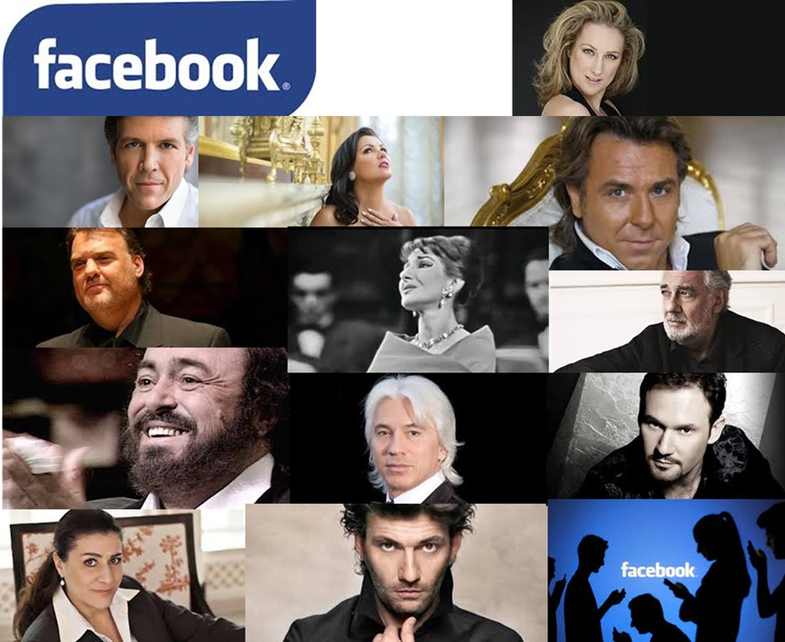 largest facebook communities amidst opera singers