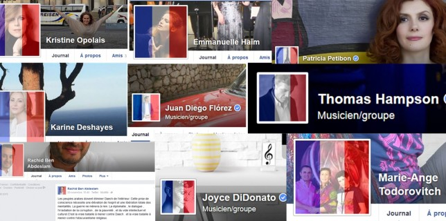 Grosse mobilisation sur Facebook du monde lyrique