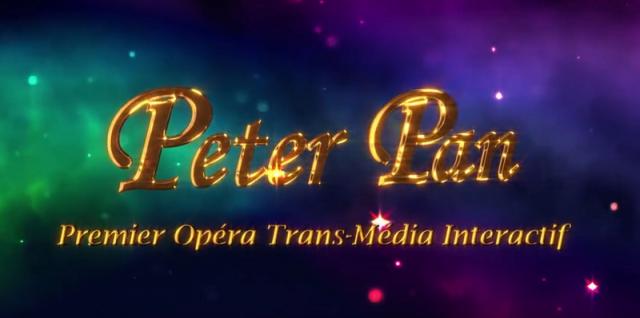 opera transmedia-interactif Peter Pan
